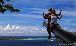 Nat & Dom à Bora Bora