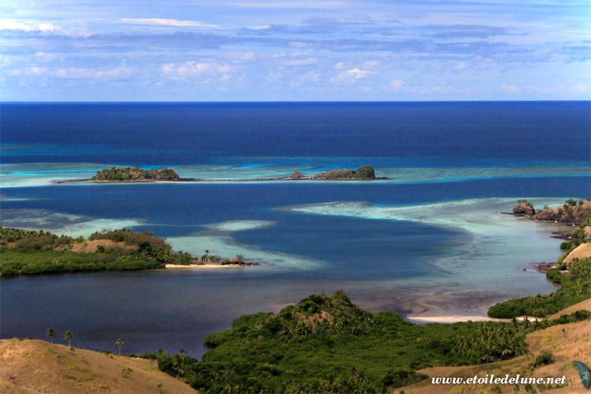 FIJI : Yasawa, île du Nord de Nacula