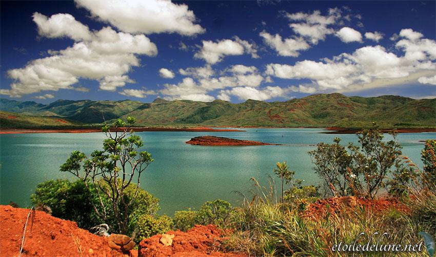 Lac Yaté… et cyclone Evan