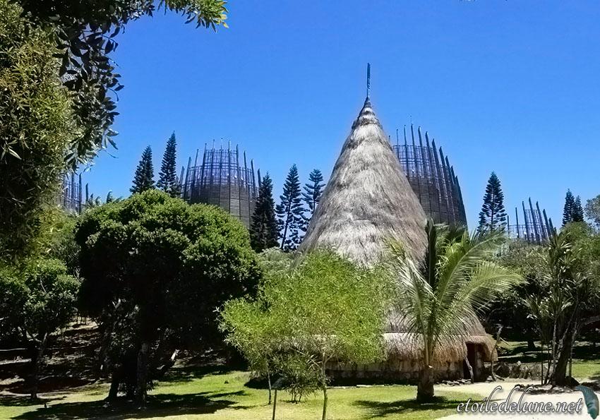 Jean Marie Tjibaou, le centre culturel