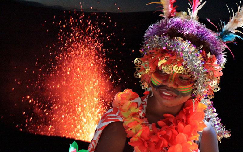 VANUATU : Tanna, suite photos du volcan