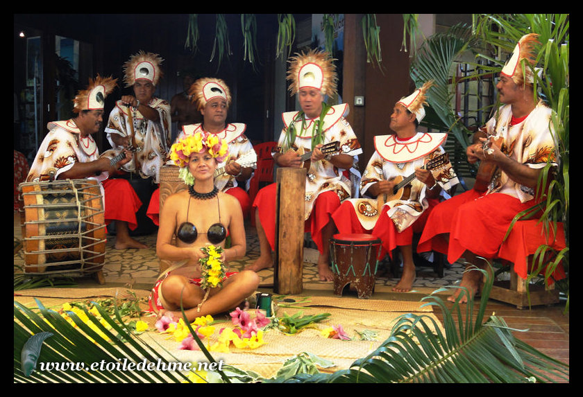 POLYNESIE : rétrospective deux d'escale : TAHITI
