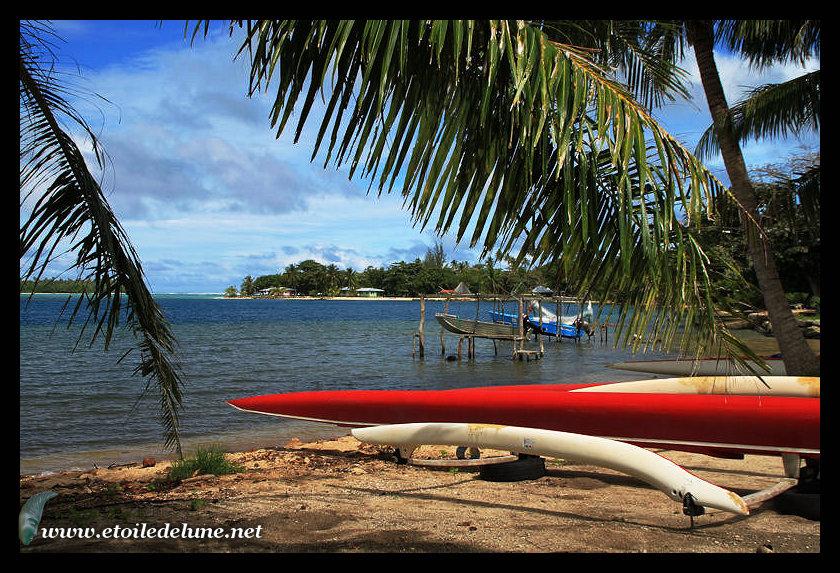 HUAHINE iti : une visite de la petite soeur du sud