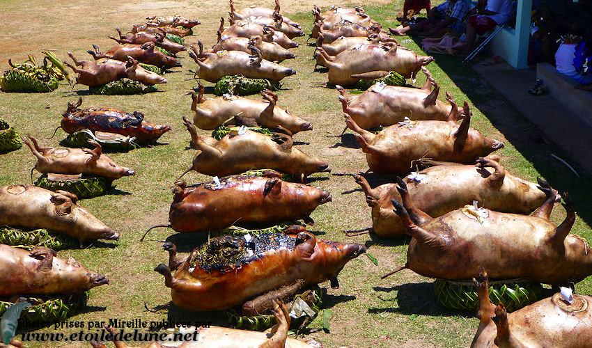 WALLIS les traditions ancestrales du kava et les offrandes à l'église