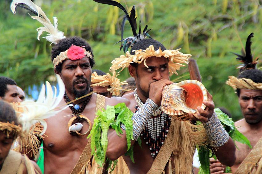 VANUATU : danseurs de l'île de Futuna