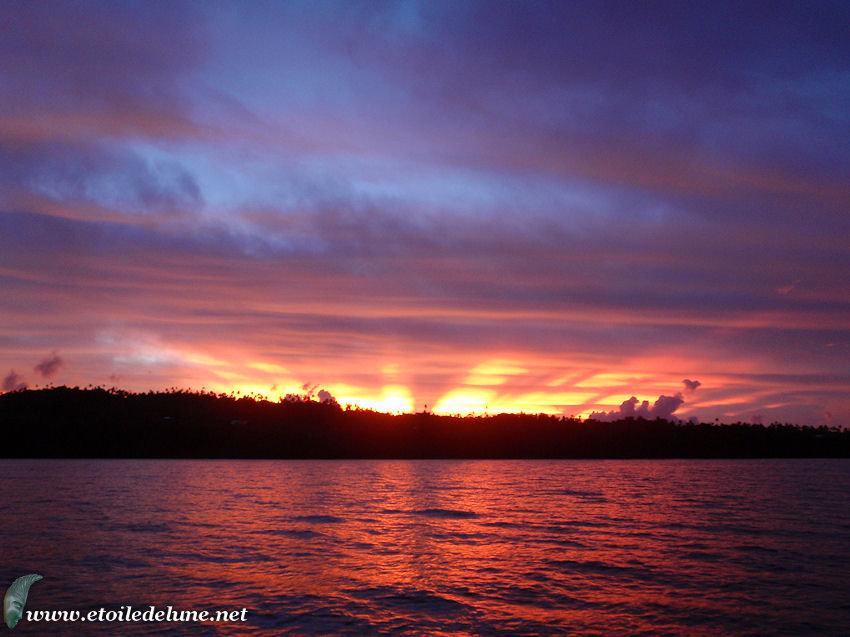 WALLIS : derniers clichés avant départ pour Vanuatu