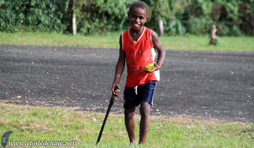 VANUATU : une machette alimentaire