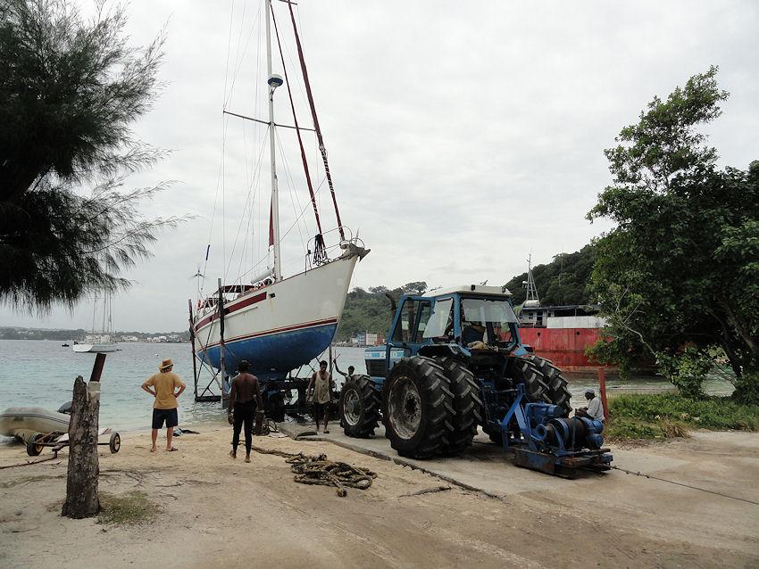 INFOS : Port Villa Vanuatu FORMALITES , FACILITES et CHANTIER