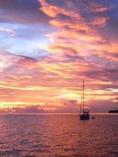 BORA : un soir avant départ pour Maupiti