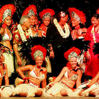 BORA BORA spectacle O Marama, un grand show!