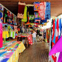 TAHITI: Marché de Papeete – ambiance