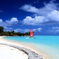 BORA l'une des plus belles plages de Polynésie