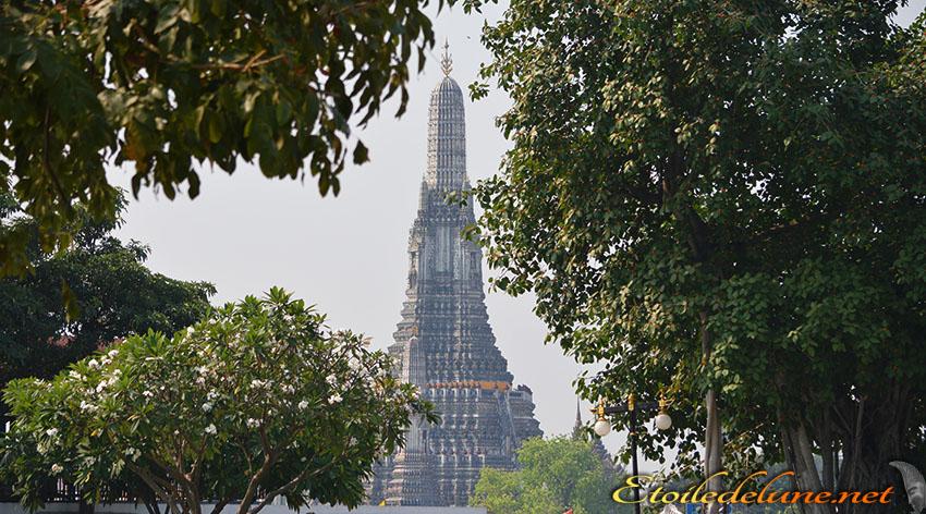 Wat Arun, une visite princière