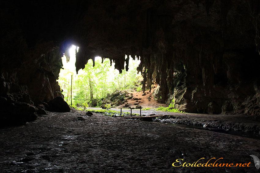 La grotte de la reine Hortense