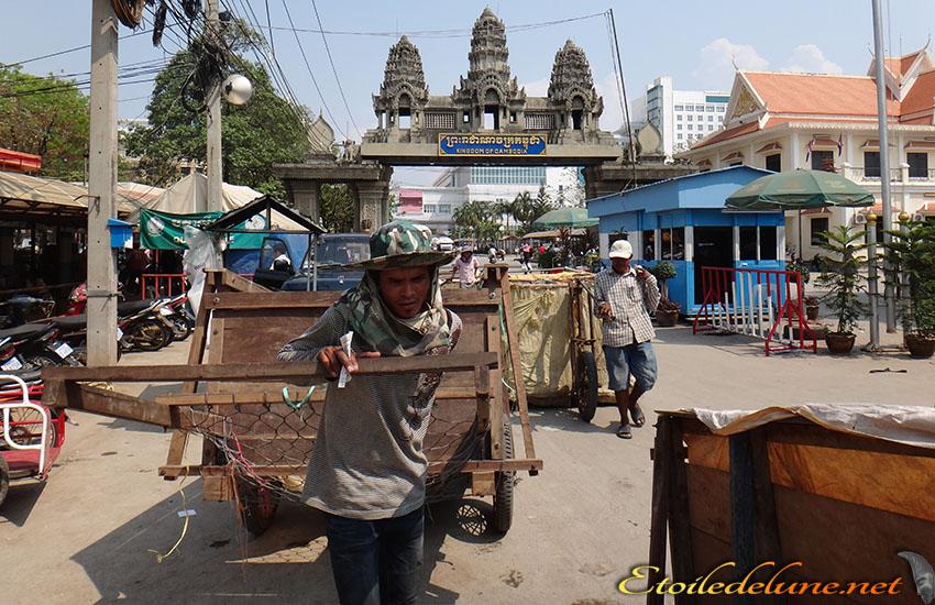 Frontière du Cambodge