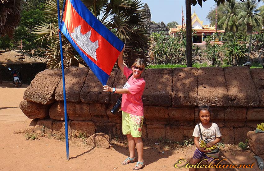 Avant de quitter le Cambodge