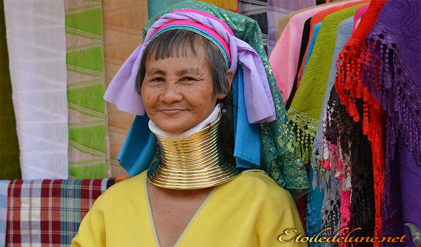 Mae Hong Son, tribus de la montagne