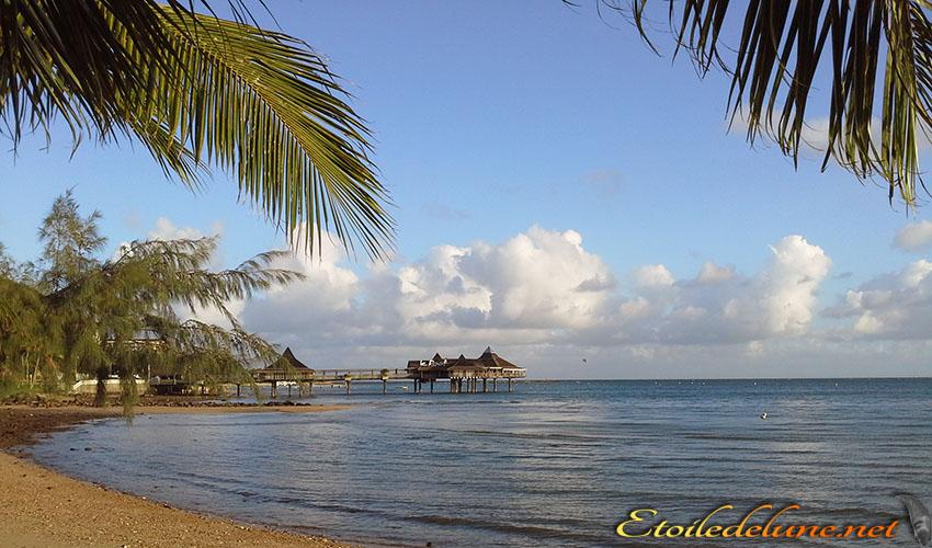 Ambiance estivale sur l'Anse Vata