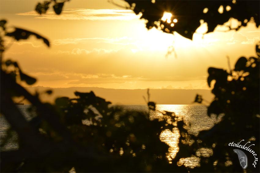 Les crépuscules de la côte est du Queensland