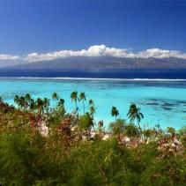 Le plus beau panorama de Tahiti, vu de Moorea
