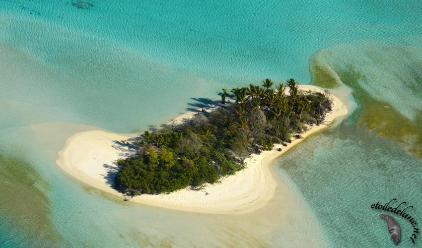 Tetiaroa vu d'avion : «Une île au large de l'espoir»