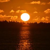 Lever de soleil sur Bora Bora
