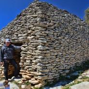Village étonnant des Bories en Vaucluse