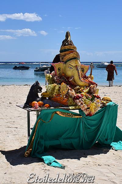 Ganesh Day à Maurice