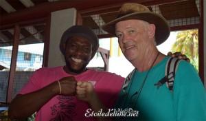 Grenadines décembre 2014. Dom retrouve un vieux copain