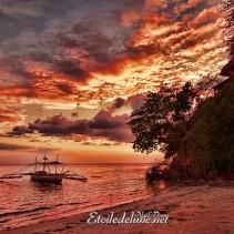Magie du soir aux Philippines