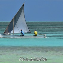 Une virée sur le lagon, (Rodrigues)