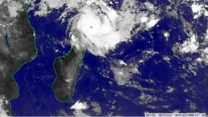 Fantala le cyclone plus plus puissant de l'Indien