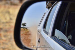 NAMIBIE poussière