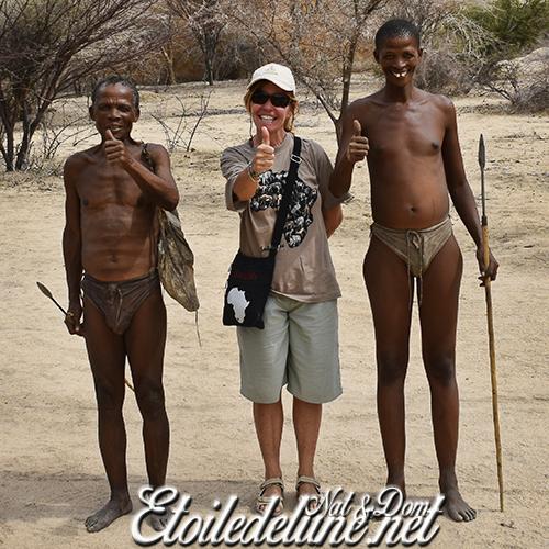 A la rencontre du Peuple San, nomades du Kalahari
