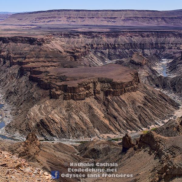 Le «Petit frère» namibien du Grand Canyon (Fish River Canyon)