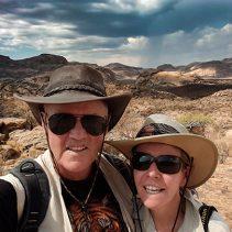 Traque au rhinos? Ou découverte de site préhistoriques? l'Erongo est plein de surprises