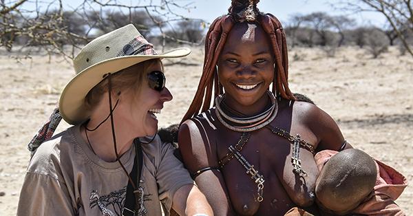 En route pour la Terre des Himbas