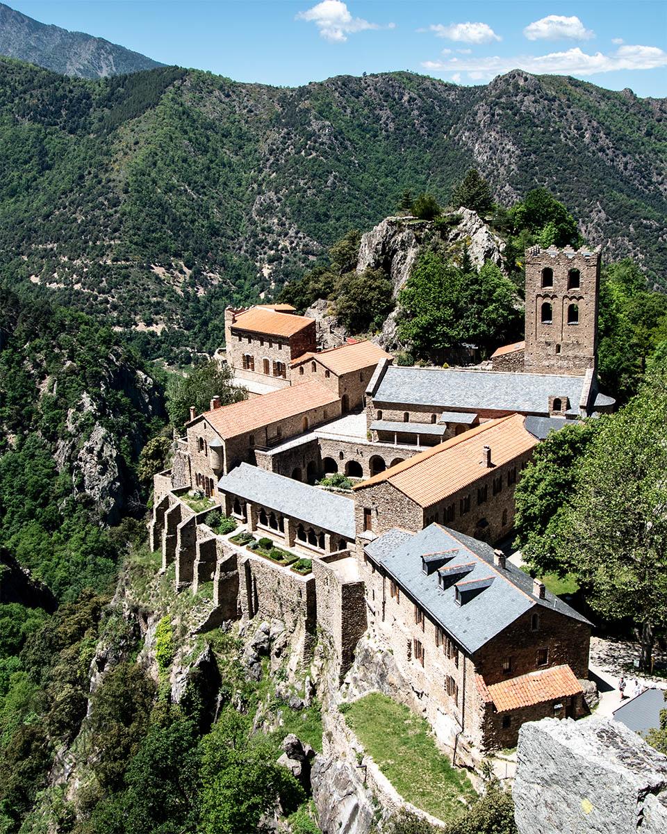 Saint Martin du Canigou - Pyrénées orientales