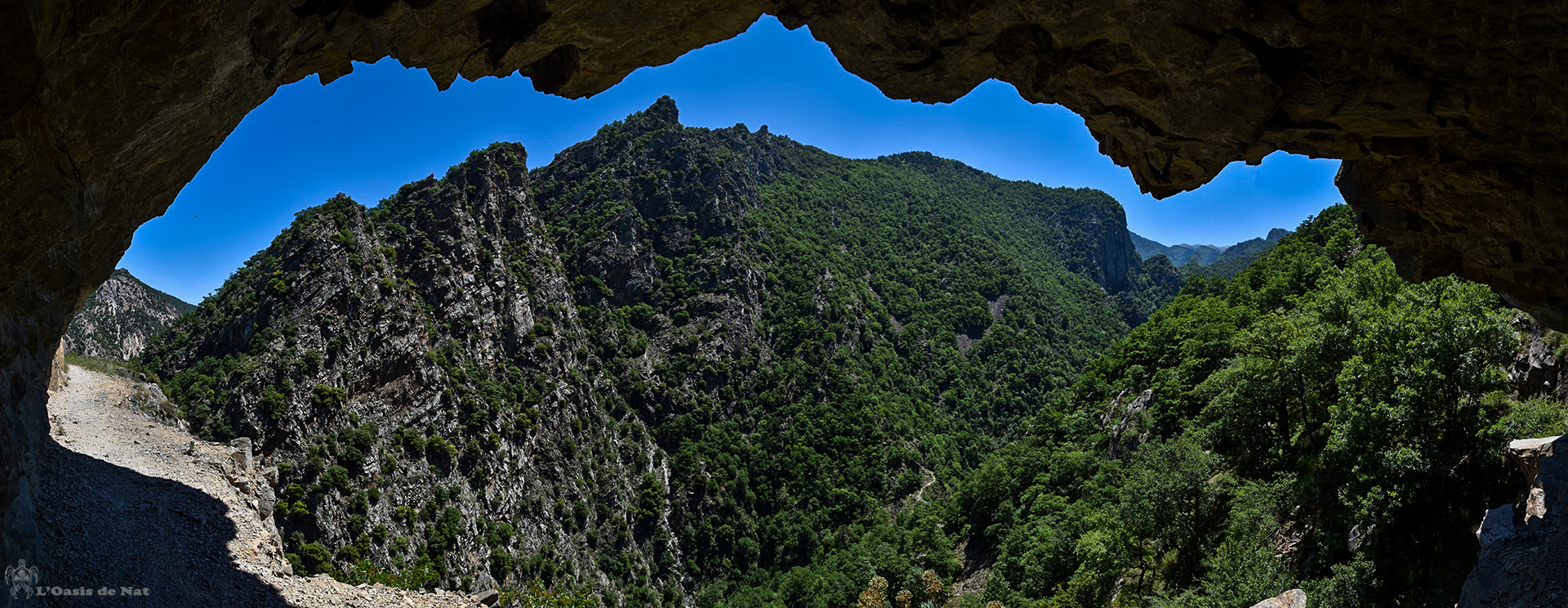 Gorges de Carança - balcon - paysage - randonéee - Pyrénées