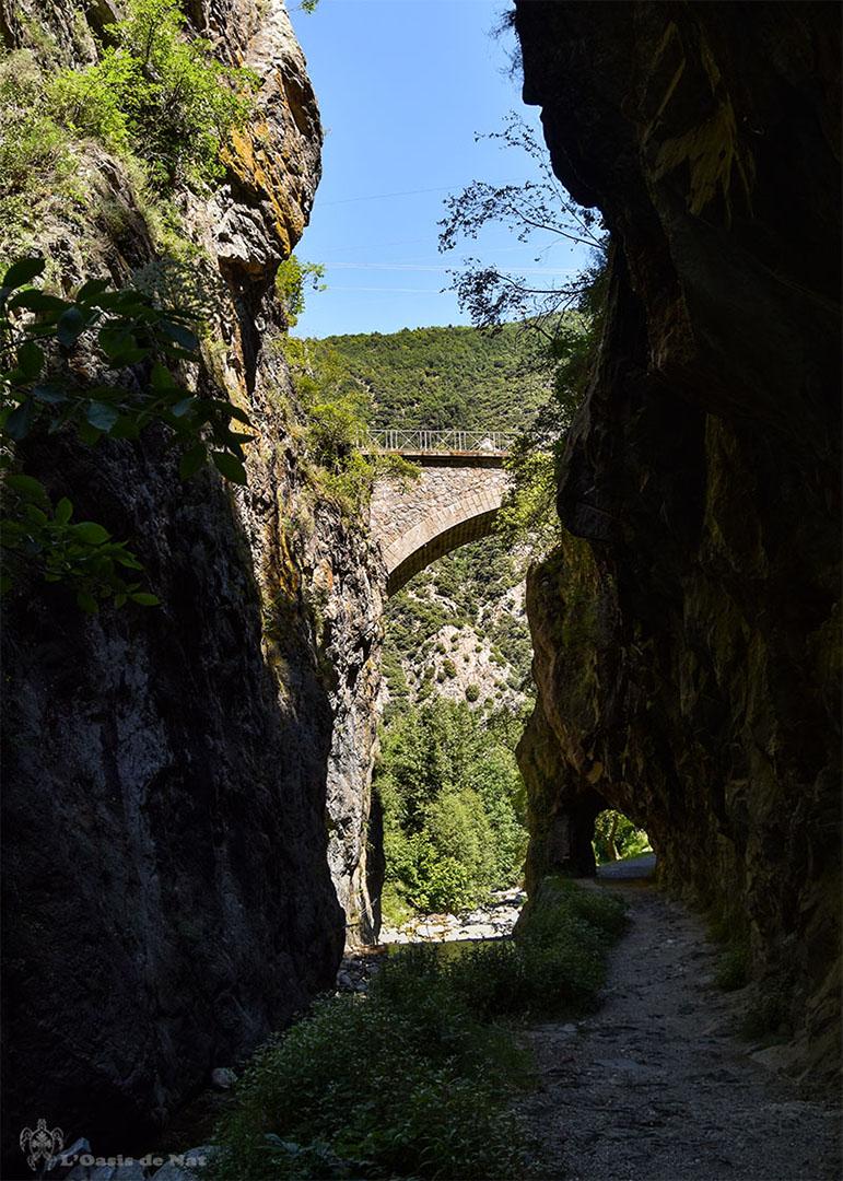 Gorges de la Caranca - Pyrenees orientales - arche - 010