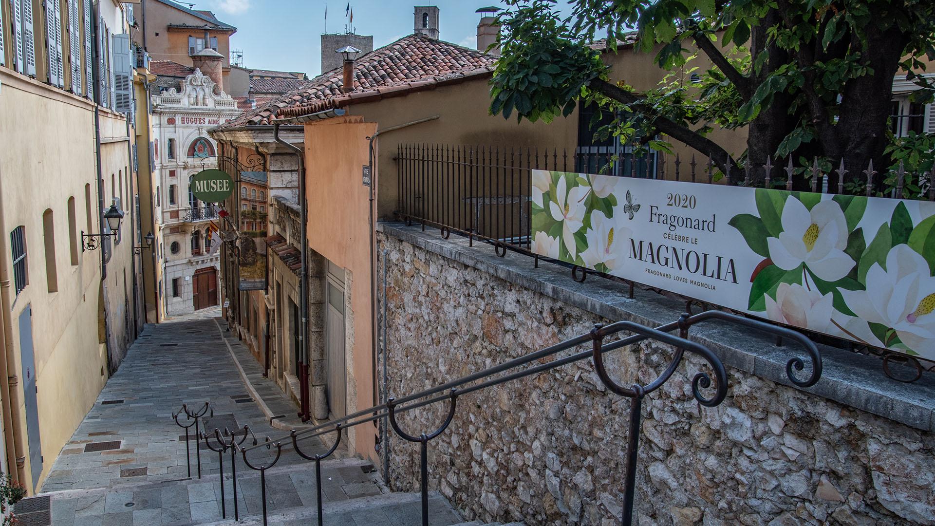 Grasse _ demeure de la Marquise de Cabris _ L'Oasis de Nat_ Fragonard _ vue panoramique