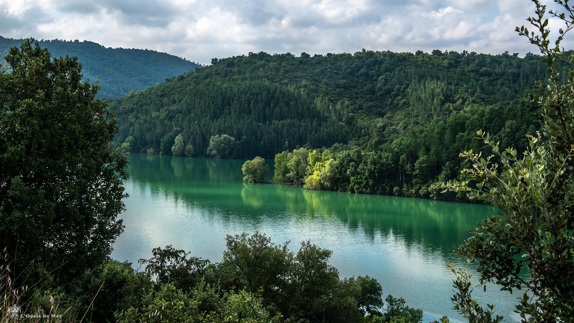 Lac de Saint Cassien_Region Paca_France-l'oasis de nat